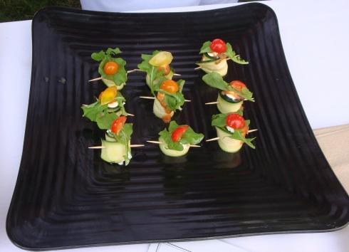 marinated zucchini